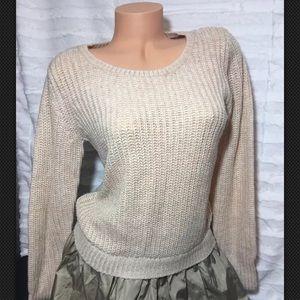 Victoria's Secret Sweater Dress Tan Small Medium